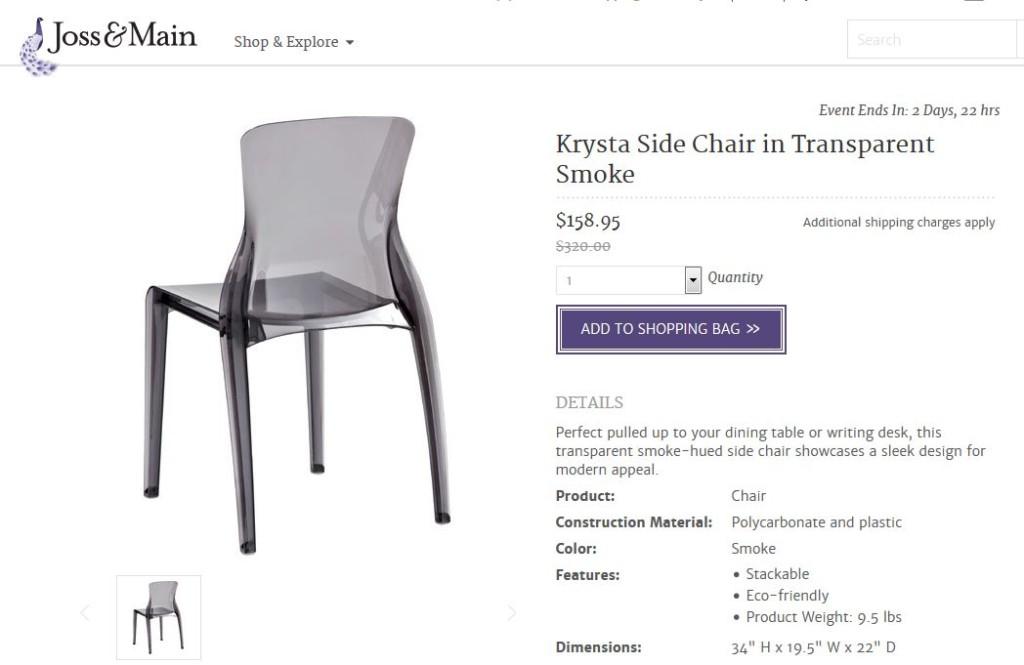krysta chair