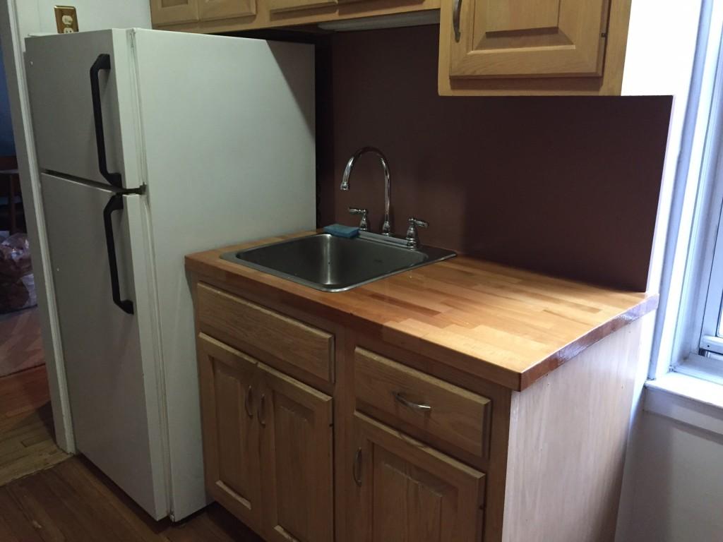 sink & fridge